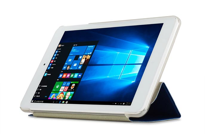 Cube iWork8 with white background and booted into Windows 10