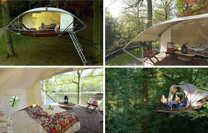 Four Images Of Dom'Up Treehouse