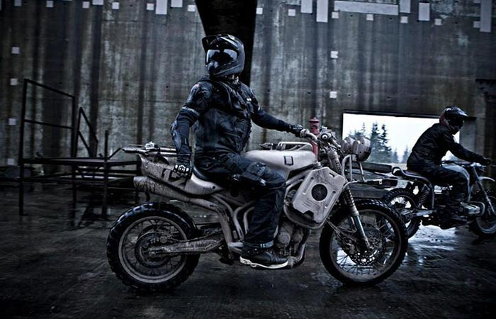 A rider one the Dromedarii
