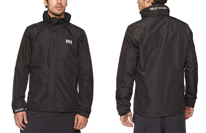 Black Helly Hansen Dubliner Rain Jacket