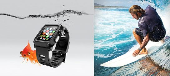 Lunatik Epik H2O | A Waterproof Polycarbonate Apple Watch Case