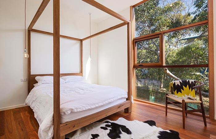 Master Bedroom In Light House