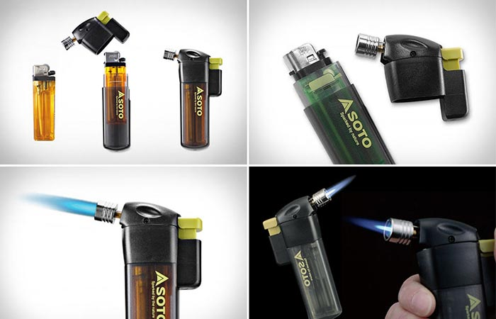 Four Images Of Soto Pocket Torch