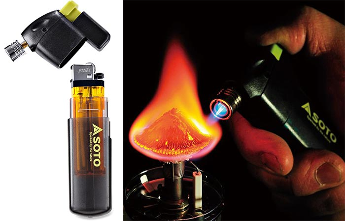 Lighting A Stove With Soto Pocket Torch