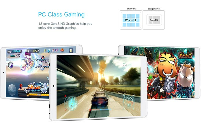Different games being played on the X80 pro