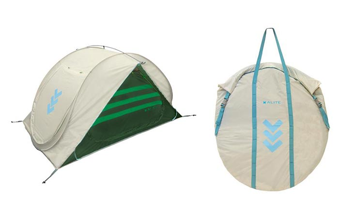 The Sierra Shack Tent Set Up And Folded