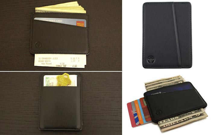 Various shots of the Black Tyni Wallet