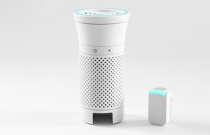 Wynd Personal Air Purifier And Tracker