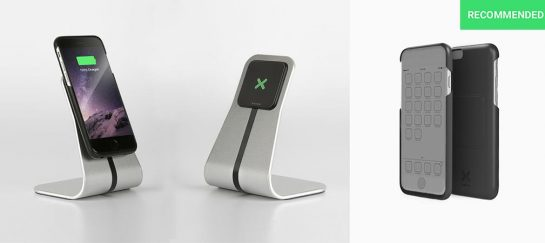 Xvida | Iphone and Android Mount With Super-Fast Qi Charging