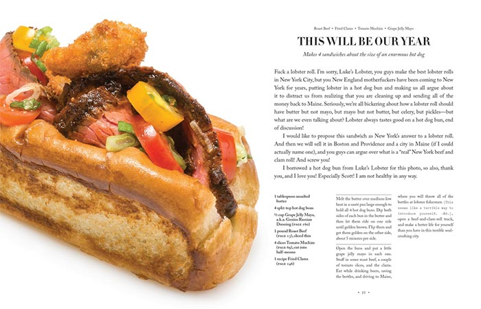 A Recipe From A Super Upsetting Cookbook About Sandwiches