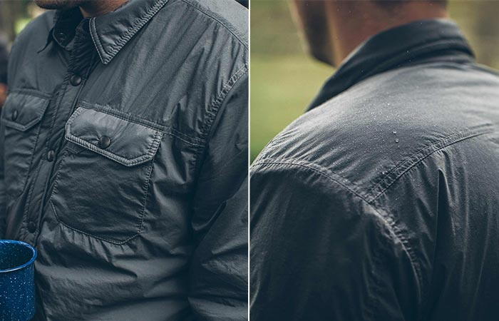 Two Images Of Albion Jacket