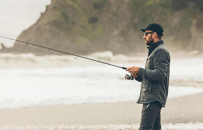 A Guy Fishing In Albion Jacket