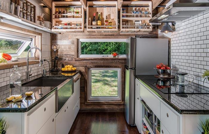 Alpha Tiny House Kitchen