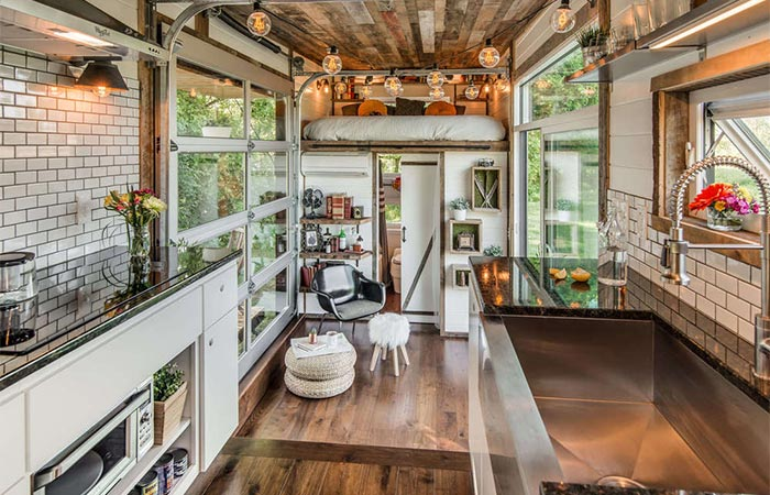 Alpha Tiny House A Look From The Kitchen