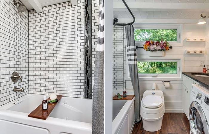 Alpha Tiny House Bathroom