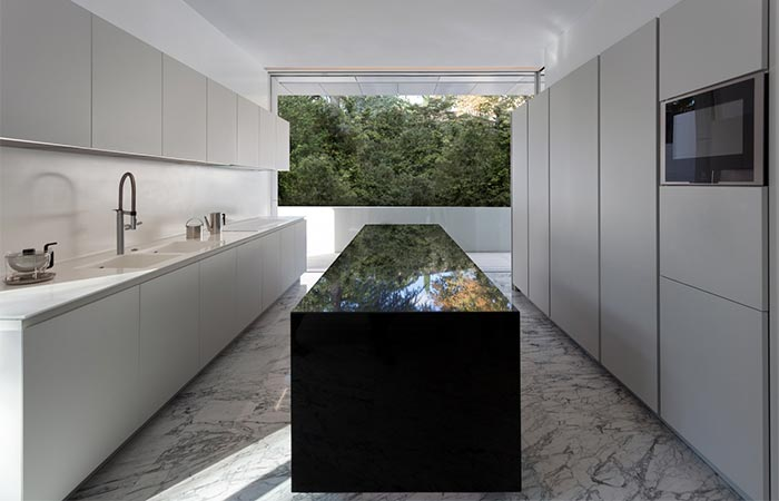 Aluminum House Kitchen