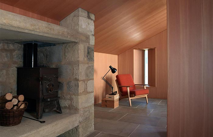 Ansty Plum House Living Area