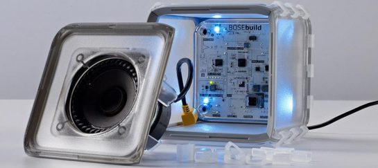 BoseBuild | A Build-it-yourself Speaker Cube