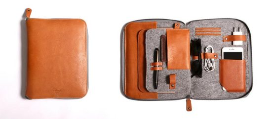 Byron   The First 2 in 1 Leather Carryall