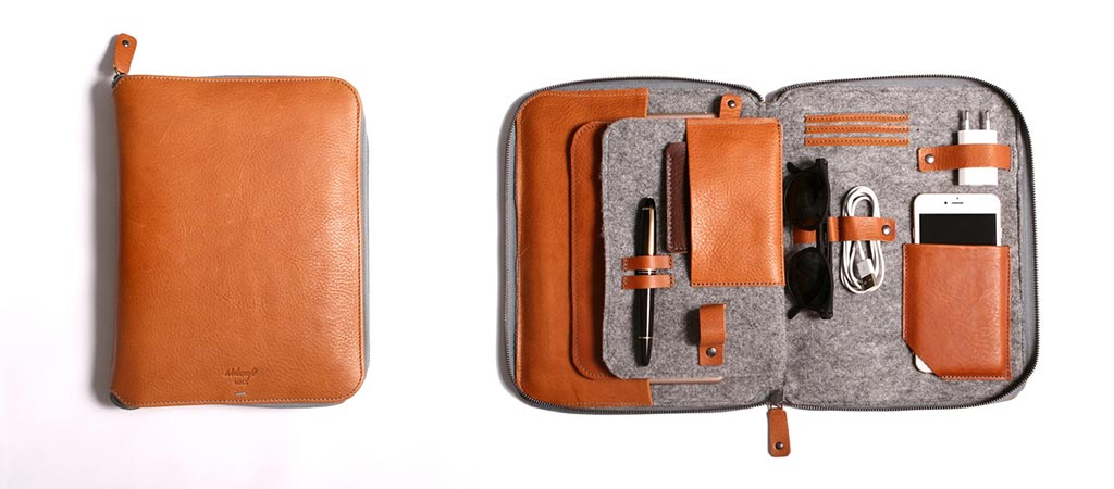 Byron | The First 2 in 1 Leather Carryall