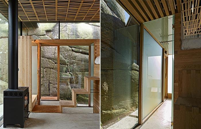 Cabin Knapphullet Interior
