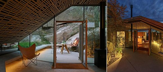 Cabin Knapphullet In Norway Constructed In Natural Rock Formation