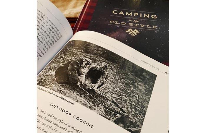 A Page From Camping In The Old Style