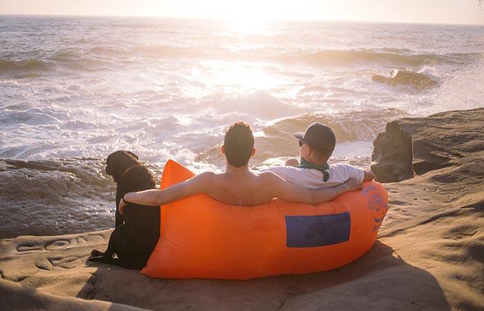 Chillbo Baggins Inflatable Lounger Sofa