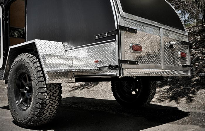Side view of the Colorado Teardrops Summit Camper
