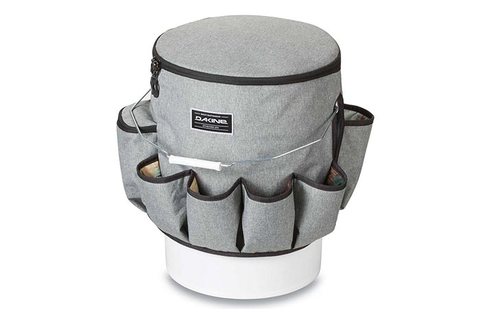 Gray Empty Dakine Party Bucket