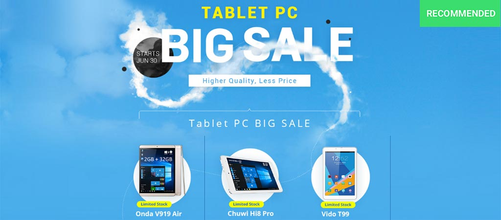Everbuying Tablet PC Big Sale Cover photo