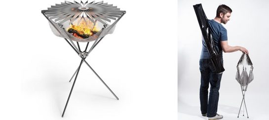 Grillo | A One-Of-A-Kind Foldable Barbecue