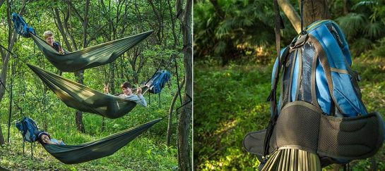 HackedPack | The Double Hammock Backpack