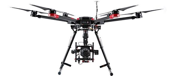 Hasselblad X DJI | A5D-M600 Collaboration Drone