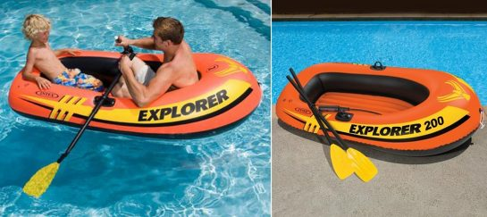 Intex Explorer 200 | Ultra-Cheap Inflatable Dinghy