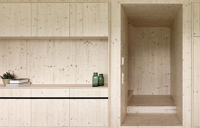 Julia & Bjorn House Wooden Walls