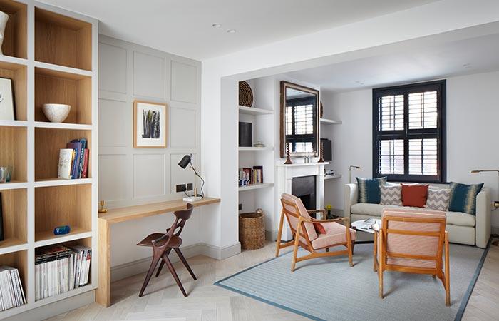 Lambeth Marsh House Living Area