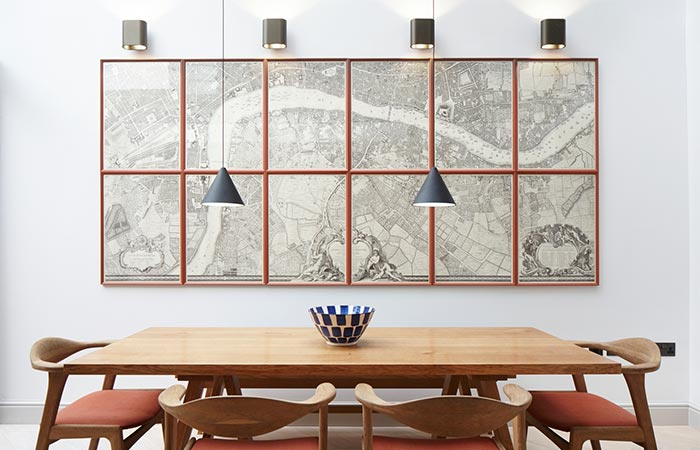 Lambeth Marsh House Dining Area