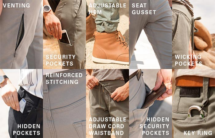 Features of the Live Lite Pants