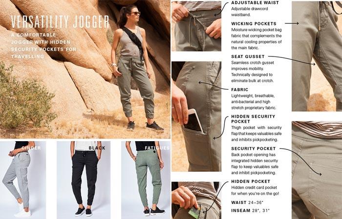 Versatile Jogger Live Lite pants