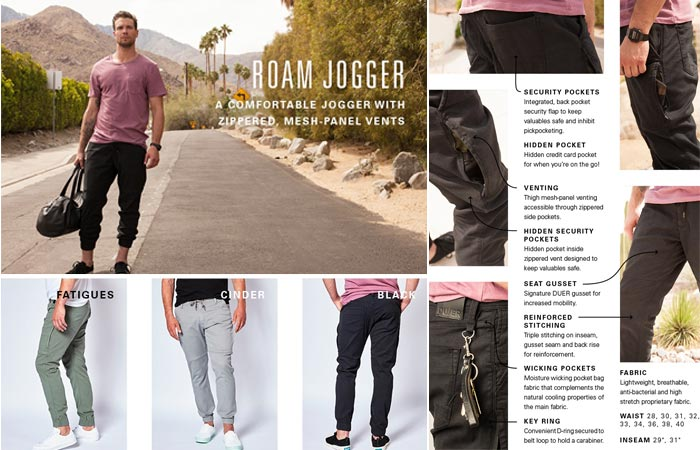Roam Jogger and features