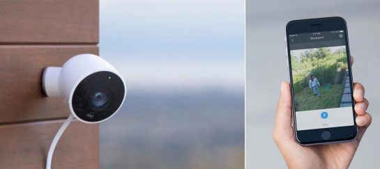 Nest Cam   Outdoor Smartphone-Linked Security Camera