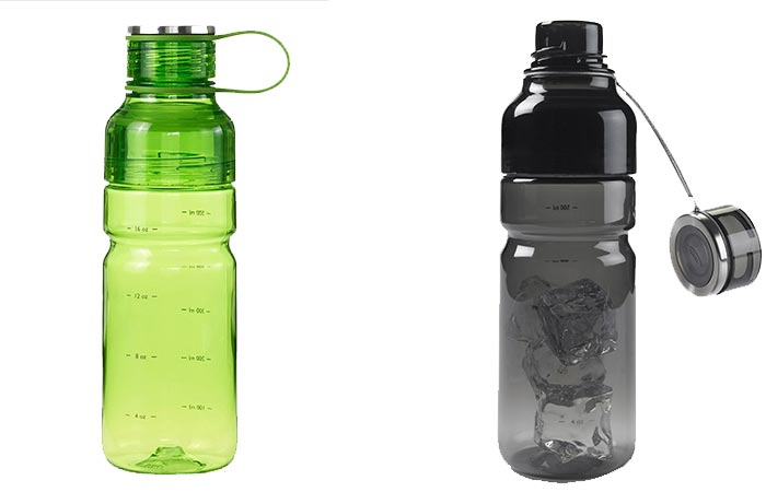 Two OXO Strive Advance Bottles