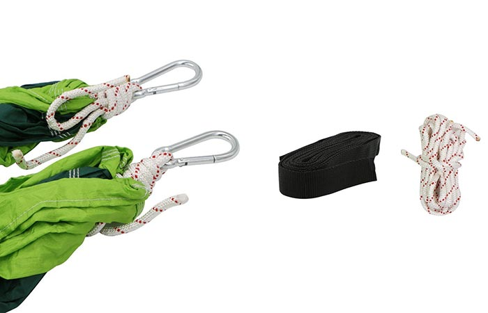 Rusee Double Hammock Straps and carabiners