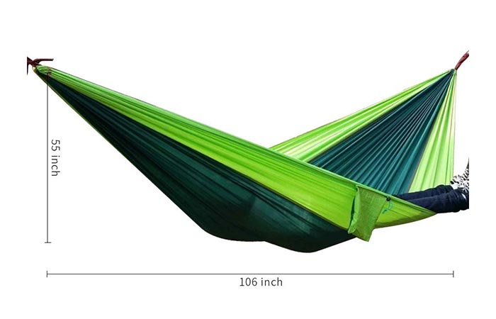 Measurements of the Rusee Double Hammock