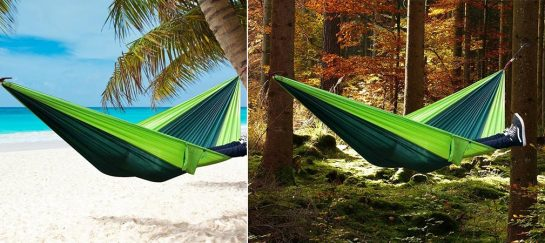 Rusee | Lightweight Double Camping Hammock (BARGAIN)