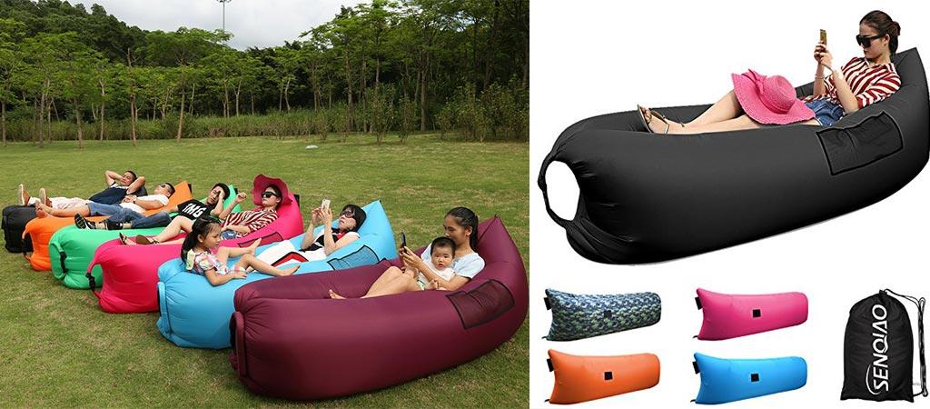 SENQIAO Inflatable Sofa : SENQIAO Inflatable Bean Bag Lounger from www.jebiga.com size 1024 x 450 jpeg 99kB