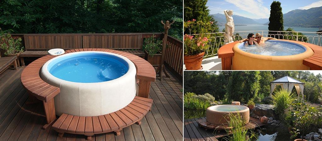 Softub Moveable Hot Tub