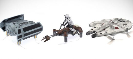 Star Wars Battle Quad Drones | That Can Actually Battle Mid-Air