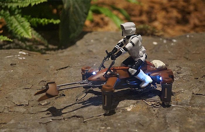 Star Wars Battle Quads Speeder Bike
